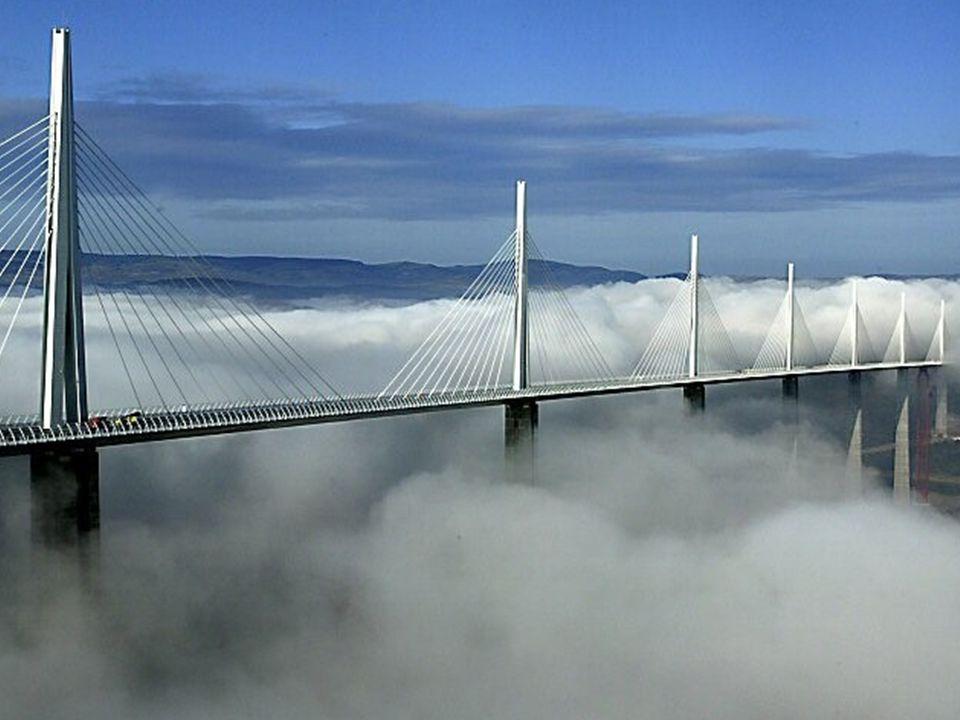 Slide 25 Millau-broen - Verdens høyeste skråstagbro