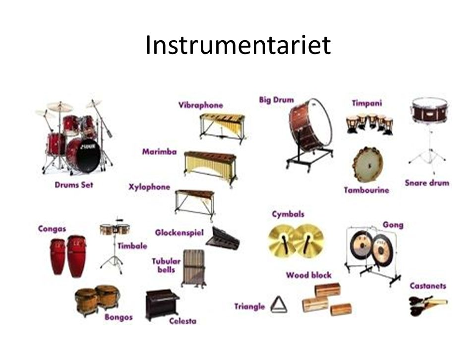 Instrumentariet