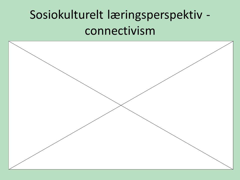 Sosiokulturelt læringsperspektiv - connectivism