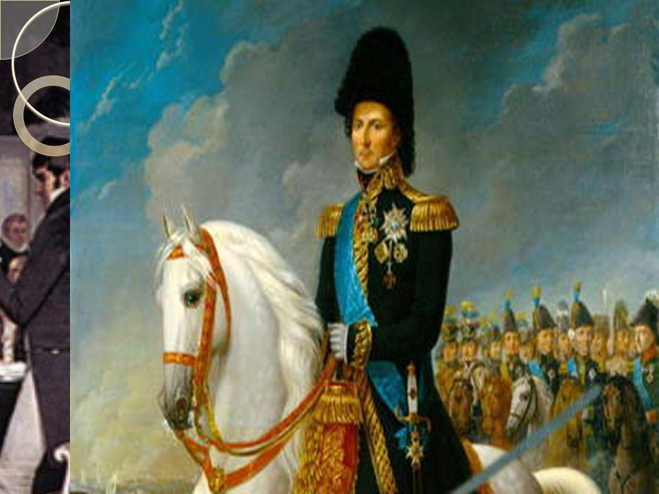 Karl Johan  I 1809 ble den svenske kongen Gustav 4.
