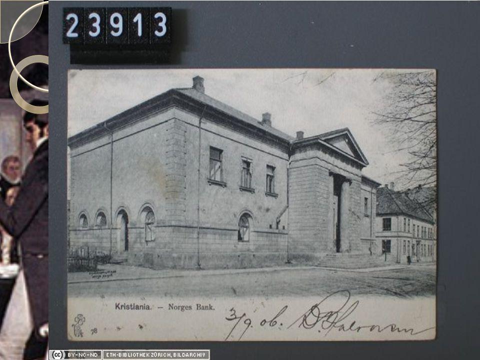 Ny administrasjon  Først etter 1814 fikk Norge mange nye sentrale organer  Nasjonalforsamling og regjering  Rettssystem og domstol  Nasjonalbank  Slott  Universitet