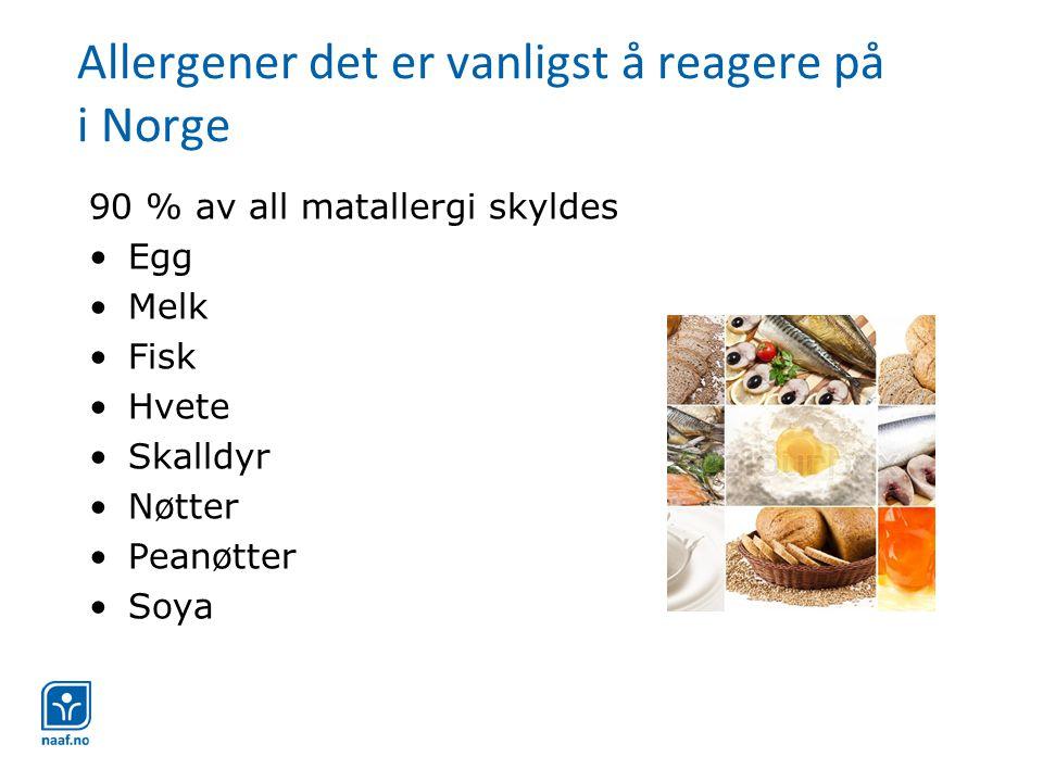 Laktosefrie og laktosereduserte produkter •Laktoseredusert melk har samme næringsverdi som vanlig lettmelk