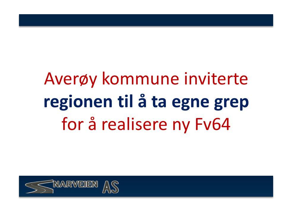 Averøy kommune inviterte regionen til å ta egne grep for å realisere ny Fv64