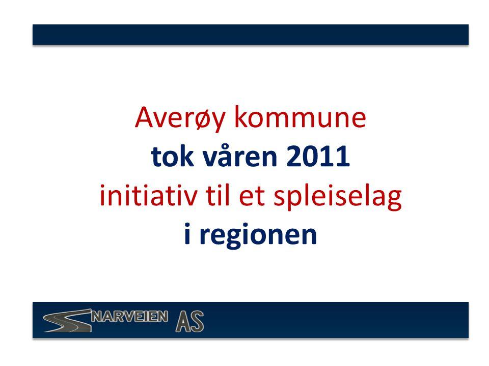 Averøy kommune tok våren 2011 initiativ til et spleiselag i regionen