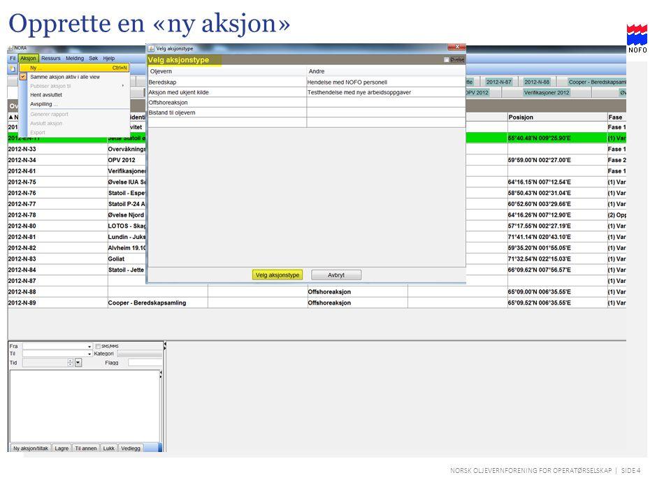 NORSK OLJEVERNFORENING FOR OPERATØRSELSKAP | SIDE 35 IUA kontakt informasjon Ved å klikke på et IUA får en opp dialogboksen med kontaktinformasjon.