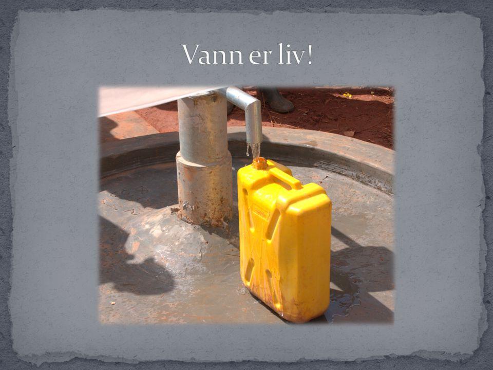  Når brønnen er blitt borret, tas det alltid vannprøver av vannet for å sjekke vannkvaliteten.