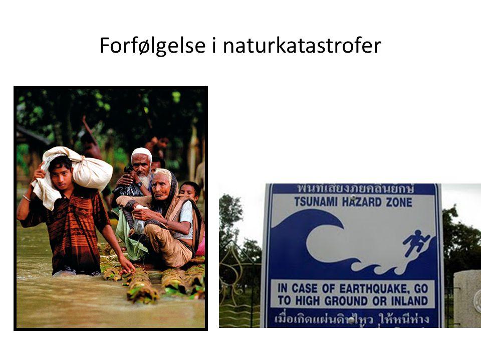 Forfølgelse i naturkatastrofer