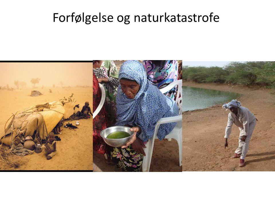 Forfølgelse og naturkatastrofe