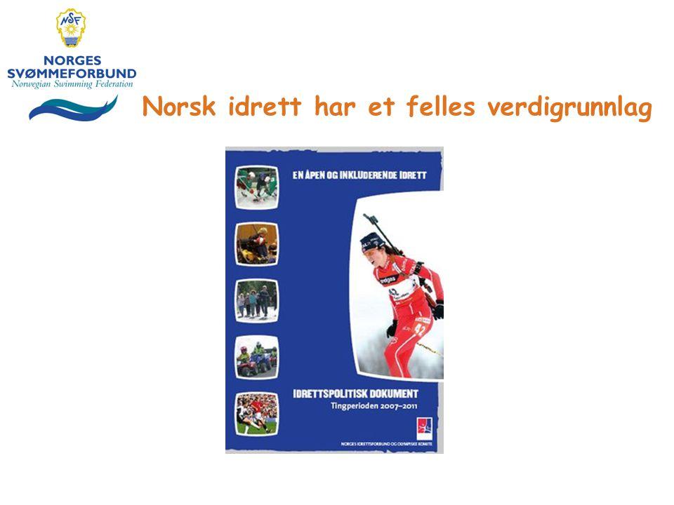 Norsk idrett har et felles verdigrunnlag