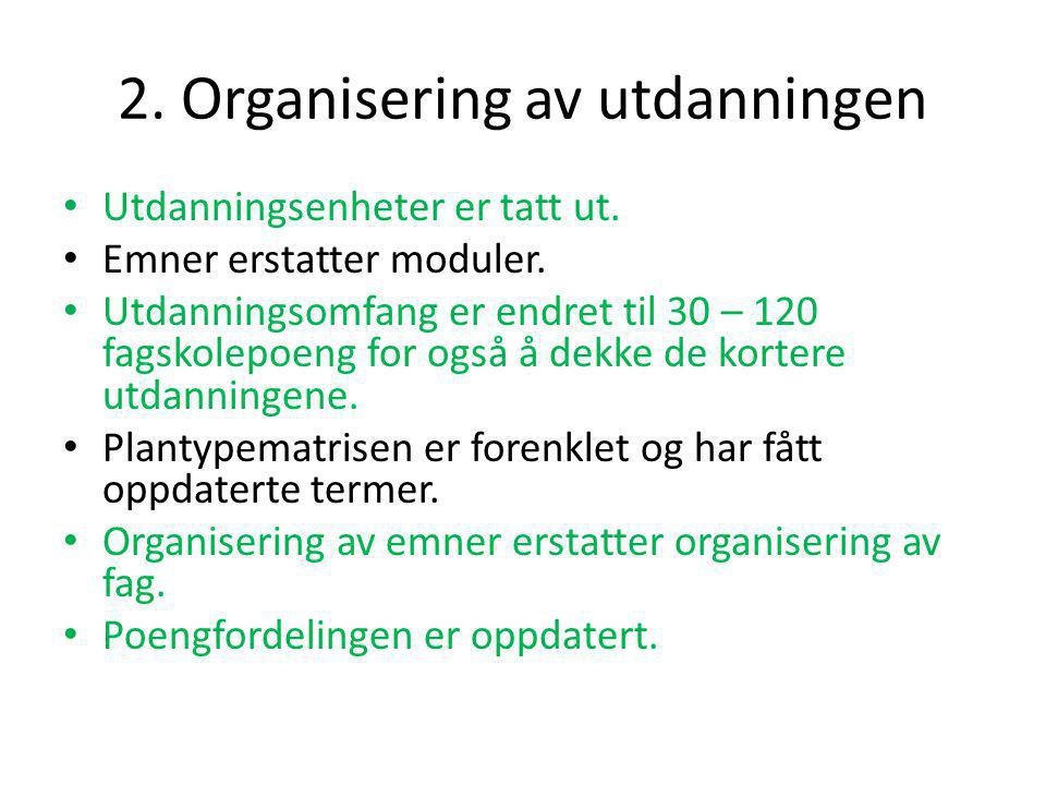 3.Arbeidsformer • Listen med læringsformer/metoder er fjernet.