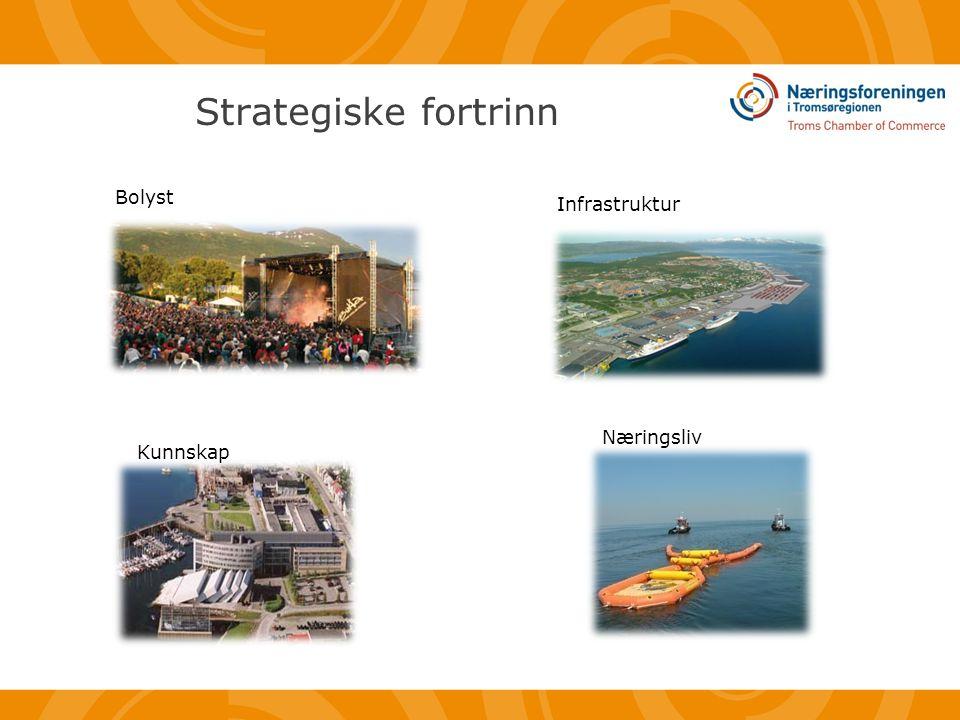 Strategiske fortrinn Bolyst Infrastruktur Kunnskap Næringsliv