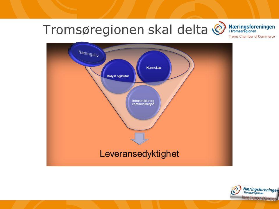 Tromsøregionen skal delta