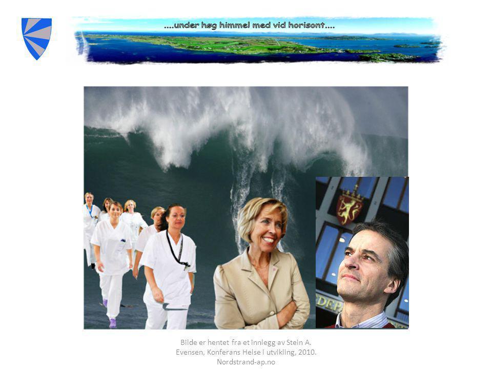 Bilde er hentet fra et innlegg av Stein A.Evensen, Konferans Helse i utvikling, 2010.