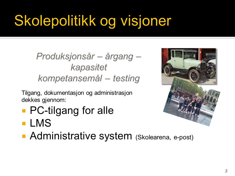  Google interaktive oppgaver / instant feedback ex: listening comprehension http://www.esl-lab.com/http://www.esl-lab.com/ ex: reading comprehension http://esl.about.com/od/englishreadingskills/ http://esl.about.com/od/englishreadingskills/ ex: grammar http://ndla.no dictationhttp://ndla.nodictation ex: history Viking quest gameViking quest game ex: dictation dictation dictation  Åpne oppgaver med mål og vurderingskriterier ex: Tools: weapons(ppt) speeches(ppt) microphone(text) ex: Litteratur def poetry create a poetry sessiondef poetry  Oppgaver som løses sammen i web 2.0 ex: http://cyberschoolbus.un.org data collectionhttp://cyberschoolbus.un.org ex: Information et fransk eksempel ex: collage http://glogster.comhttp://glogster.com 14