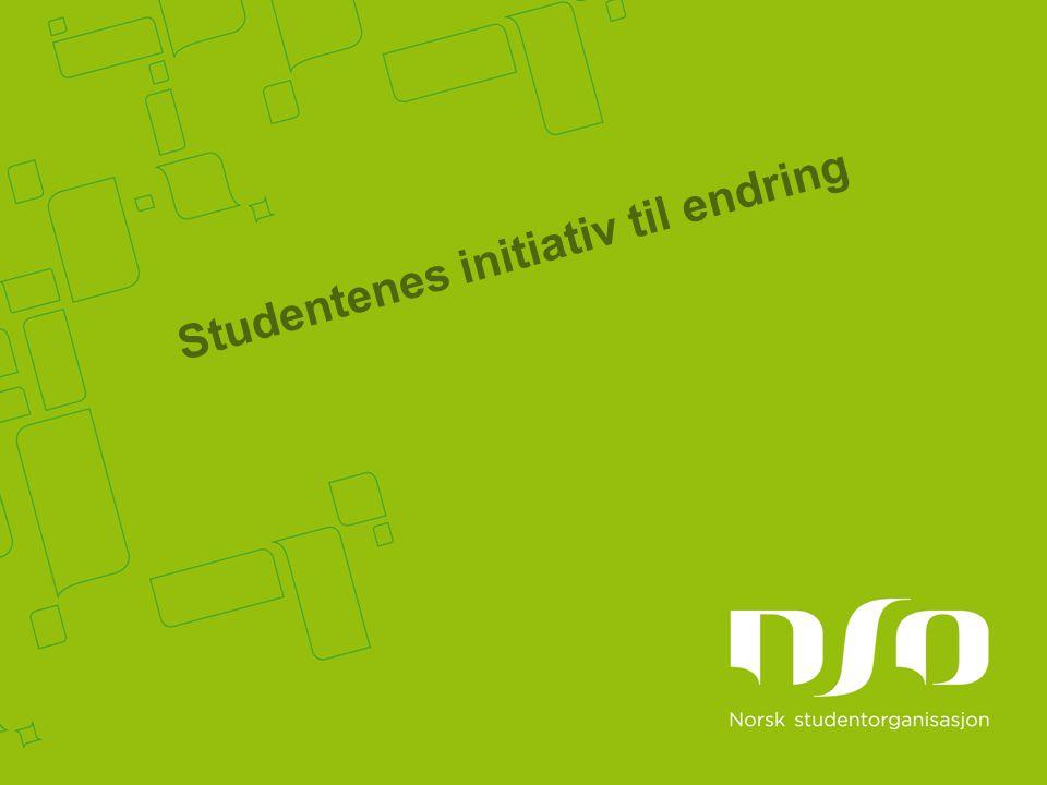 Studentenes initiativ til endring