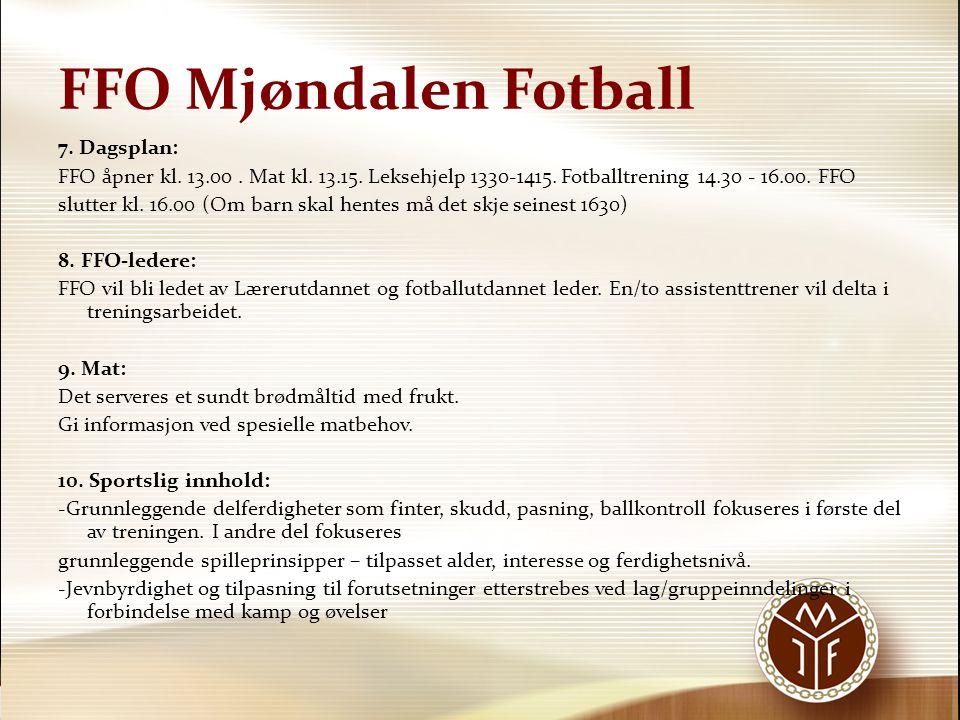 FFO Mjøndalen Fotball 11.Skader/sykdom: Ved lengre tids sykdom/skader kan betalingslettelser gis.