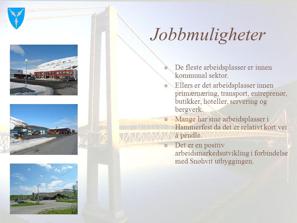 """Kvalsund kommune  Har ca. 1100 innbyggere og ligger i Vest Finnmark.  Grenser til Alta, Hammerfest, Porsanger og Måsøy.  Er nærmeste nabo til """"Snøh"""