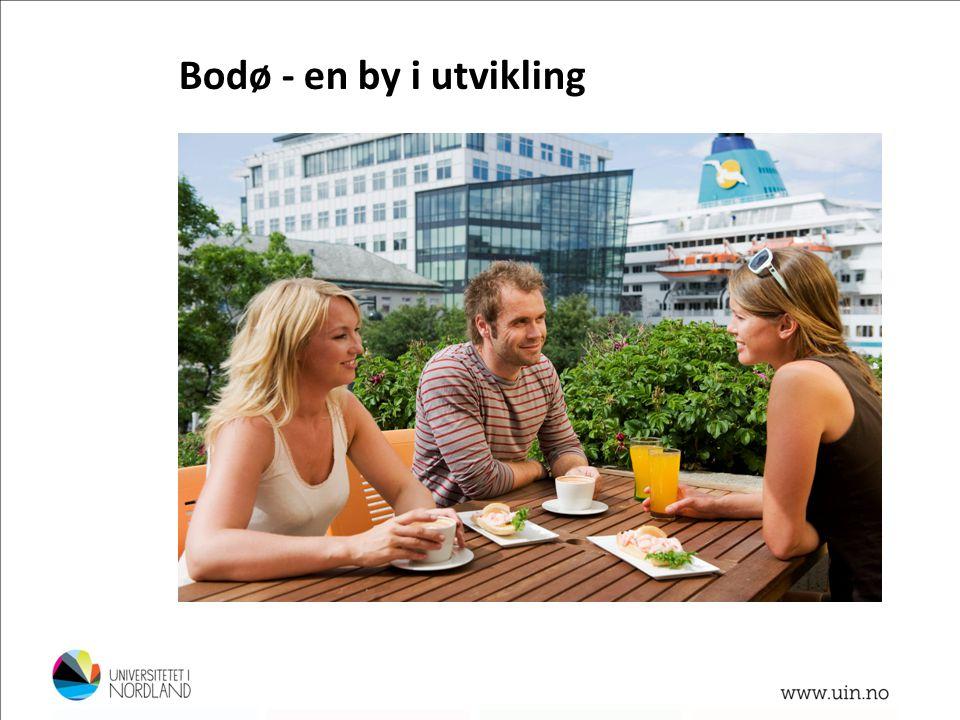 Foto: Lillian Jonassen Bodø - en by i utvikling