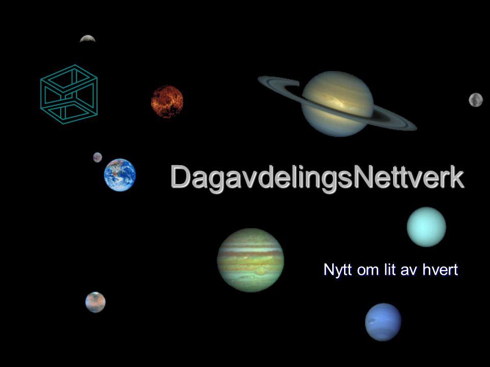 DagavdelingsNettverk Nytt om lit av hvert