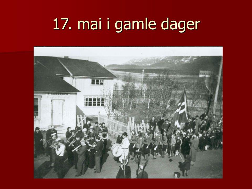  17. maitog i Berlevåg i 1962.