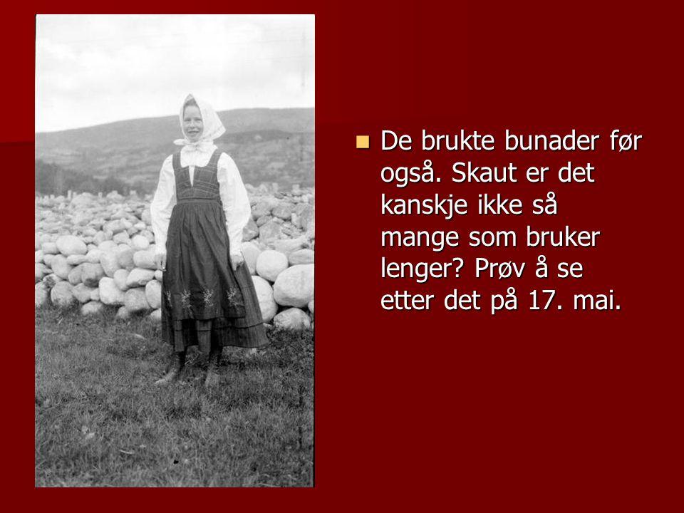 BUNADSØLJE BUNADSKJORTE BUNADVESKE STAKK BUNADSKO