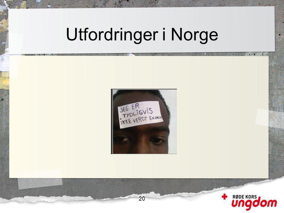 Utfordringer i Norge 20