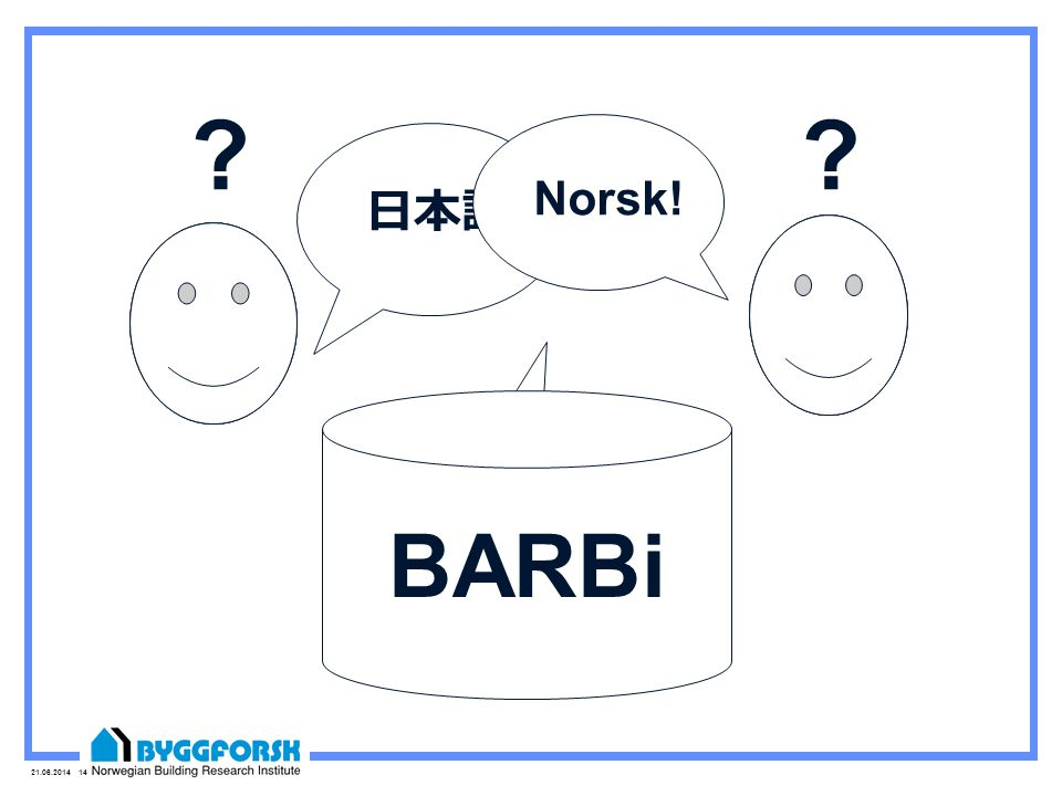 21.06.2014 14 日本語! Norsk! ?? English! BARBi