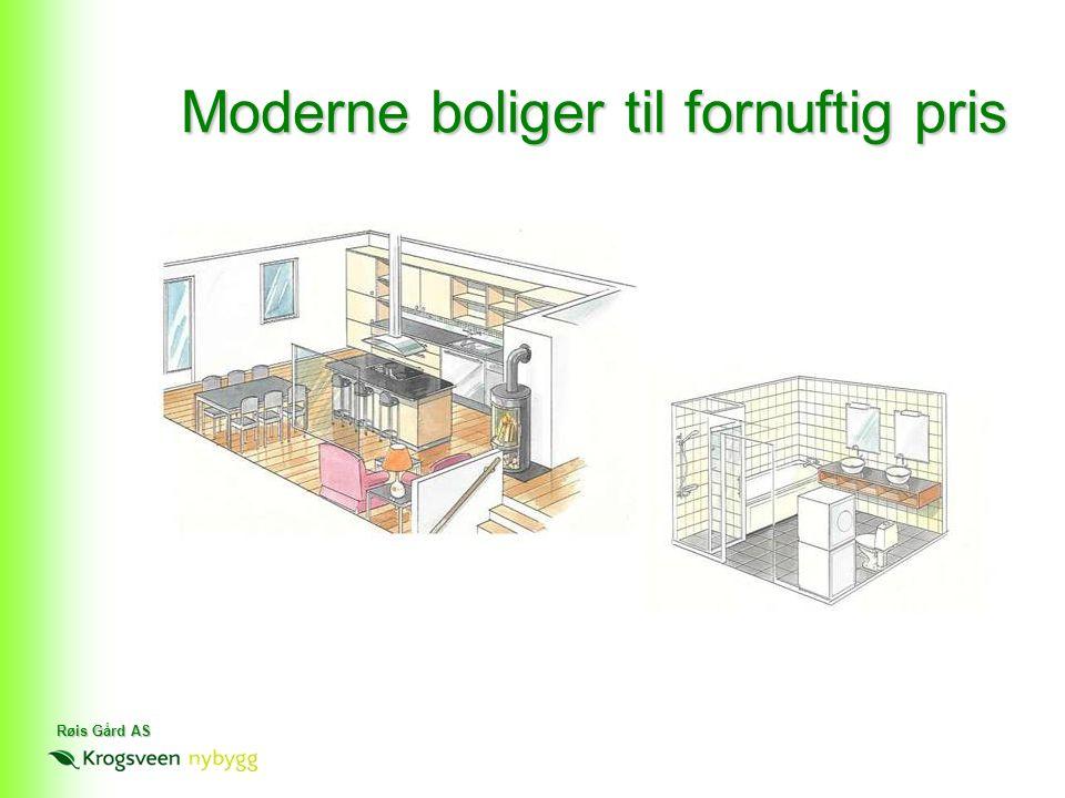 Røis Gård AS Moderne boliger til fornuftig pris