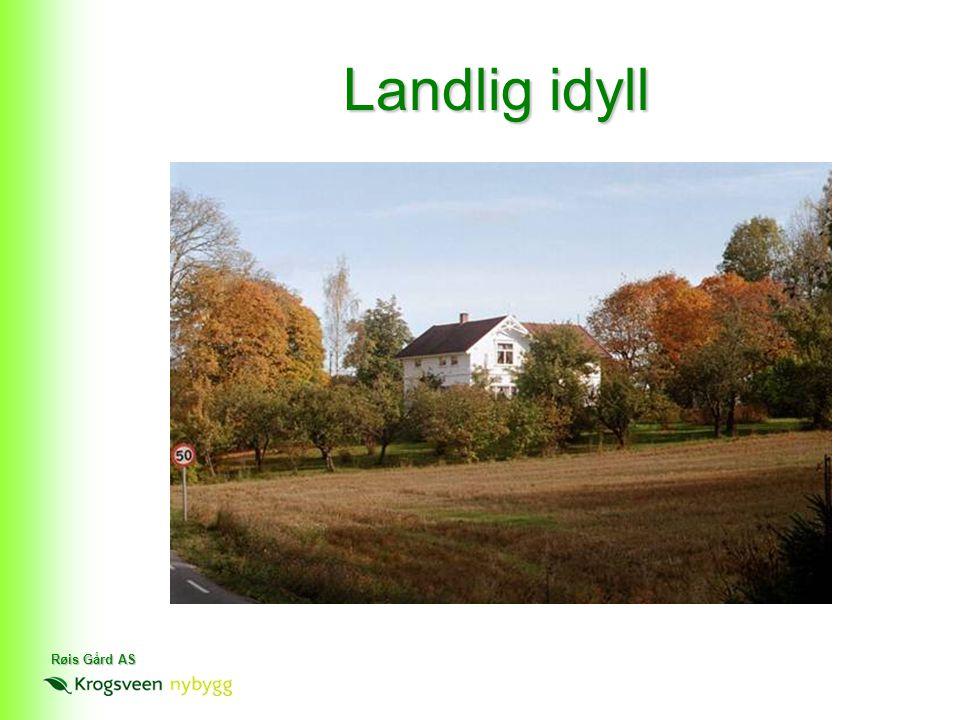 Røis Gård AS Landlig idyll