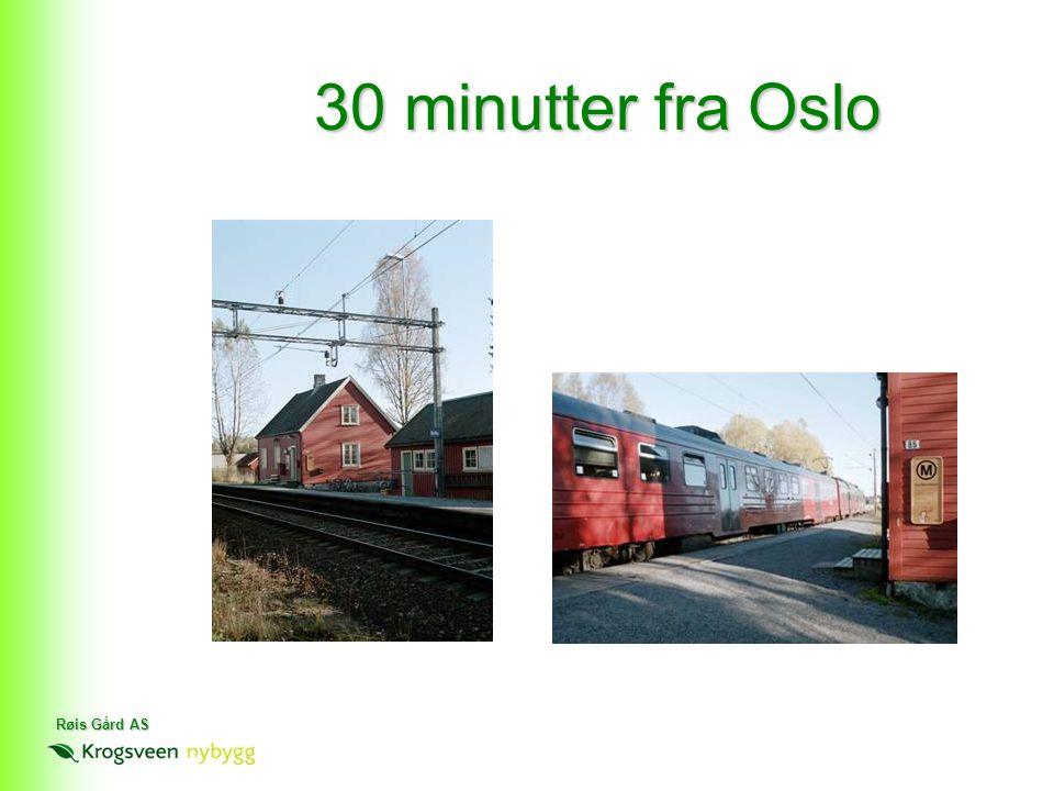 Røis Gård AS 30 minutter fra Oslo