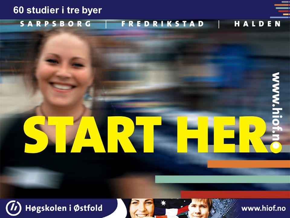 Høgskolesenterets resepsjon Velkommen til studiestart i nye lokaler 29. aug. 2005