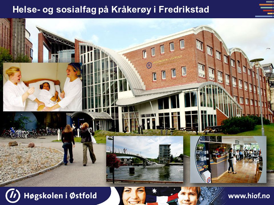 Helse- og sosialfag på Kråkerøy i Fredrikstad