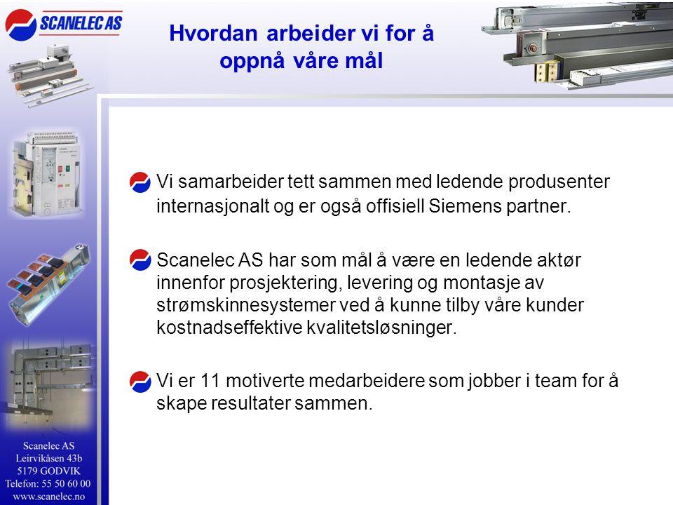 Metallkapslete skinner sivacon 8PS LD