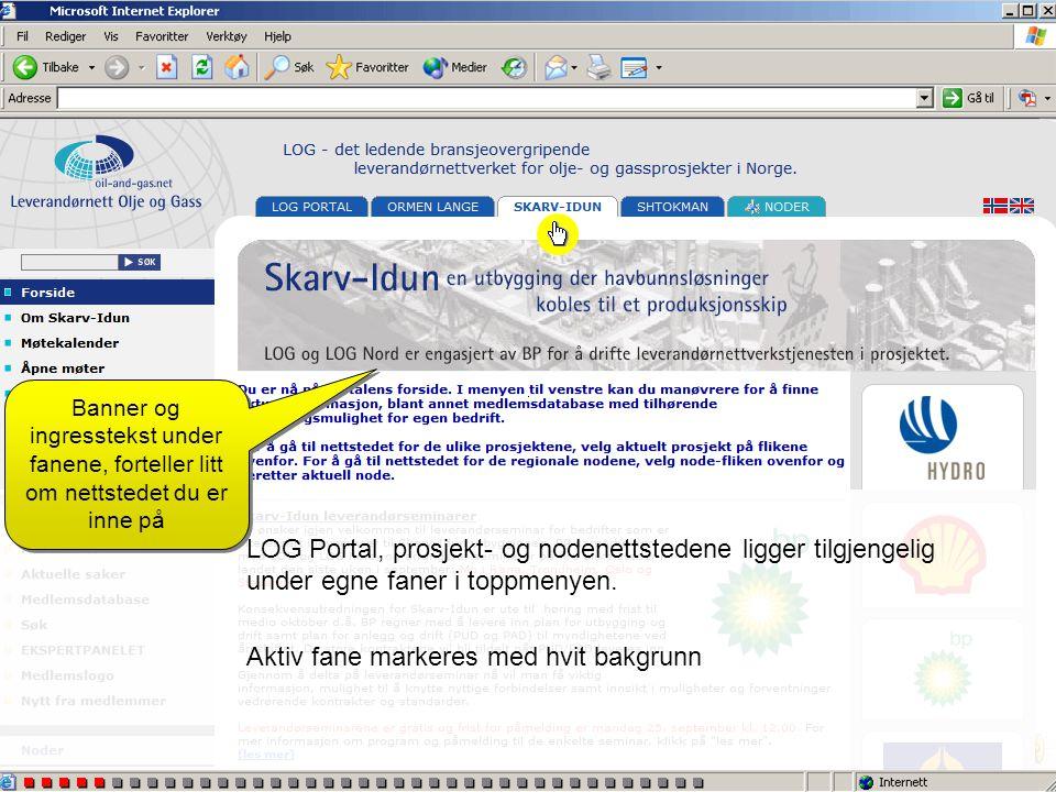 Under Medlemsdatabase kan du laste ned: •Komplett medlemsliste i Exel-format •Liste over medlemmer med registrert Achilles-ID LOG Portal