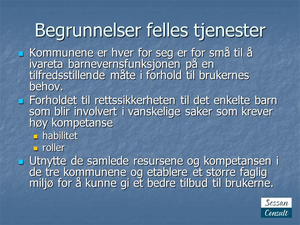 Prosjekt  Avgrenset i tid og ressursbruk  Klare mål  Avgrensede oppgaver  Avgrenset organisasjon  Prosjektplan  Kommunikasjon  www.sessan.no www.sessan.no  Kommunewebene