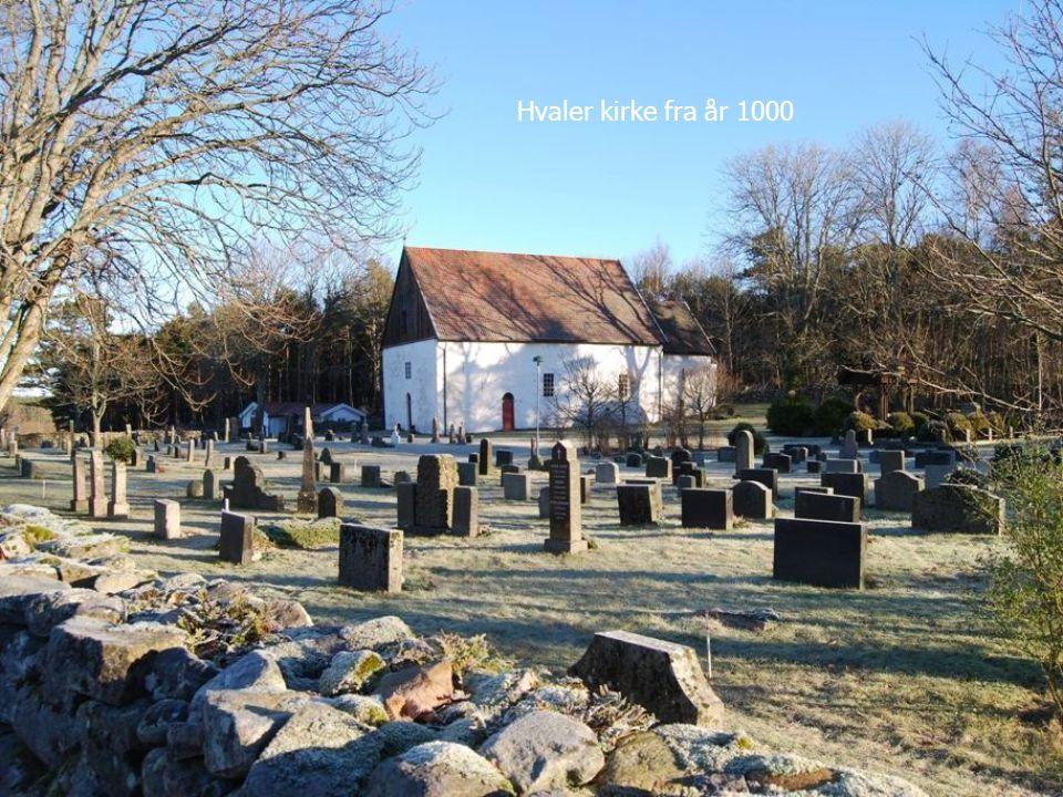Hvaler kirke fra år 1000