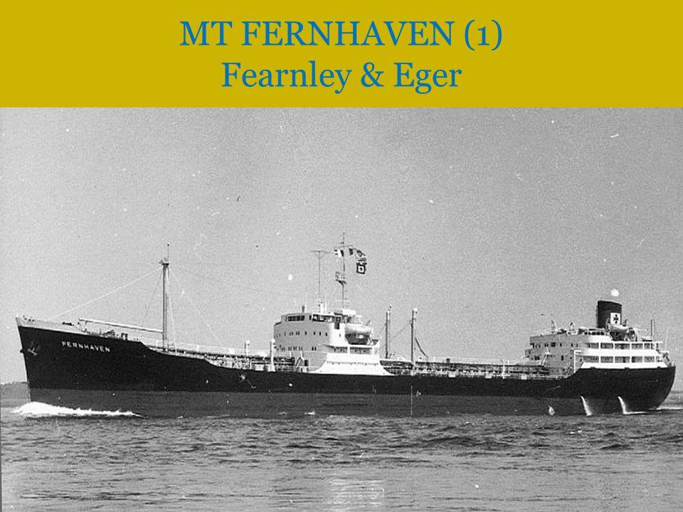 MS FERNWIND (2) Fearnley & Eger MT FERNHAVEN (1) Fearnley & Eger