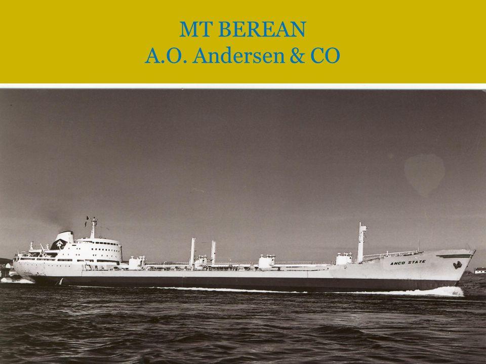  Overført til Eger Tankers Inc.Monrovia. (Fearnley & Eger, Oslo), i 1975.