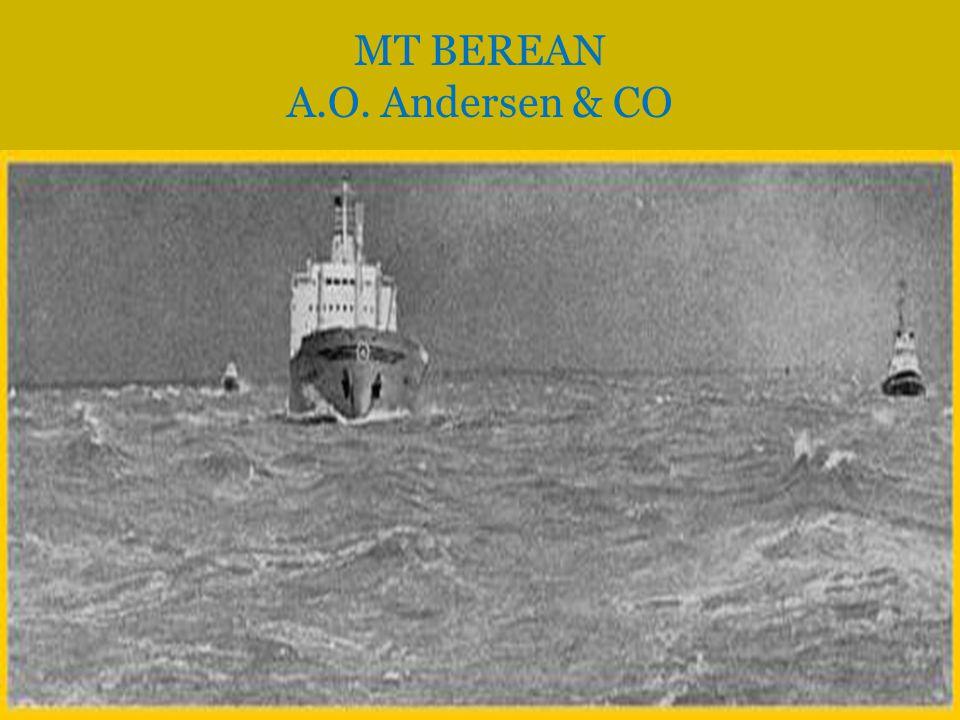  Type: Tankbåt  Flagg: Norsk  Bygget ved: Kieler Howaldtswerke A.G., Kiel  Sjøsatt: 29.september 1962  Ferdigstilt: Januar 1963  Tonn: 32763  Dwt: 52555  Største lengde: 215.3 mtr  Største bredde: 31.2  Antall aksling/Propell: 1 TT JAWACHTA Anders Jahres Rederi Sandefjord