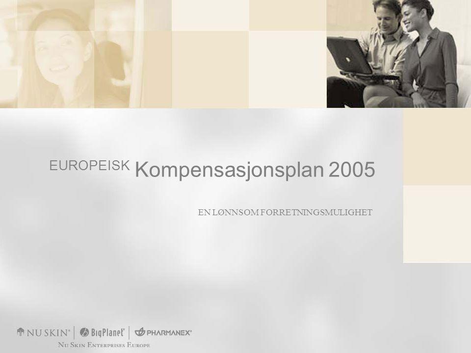 EN LØNNSOM FORRETNINGSMULIGHET EUROPEISK Kompensasjonsplan 2005