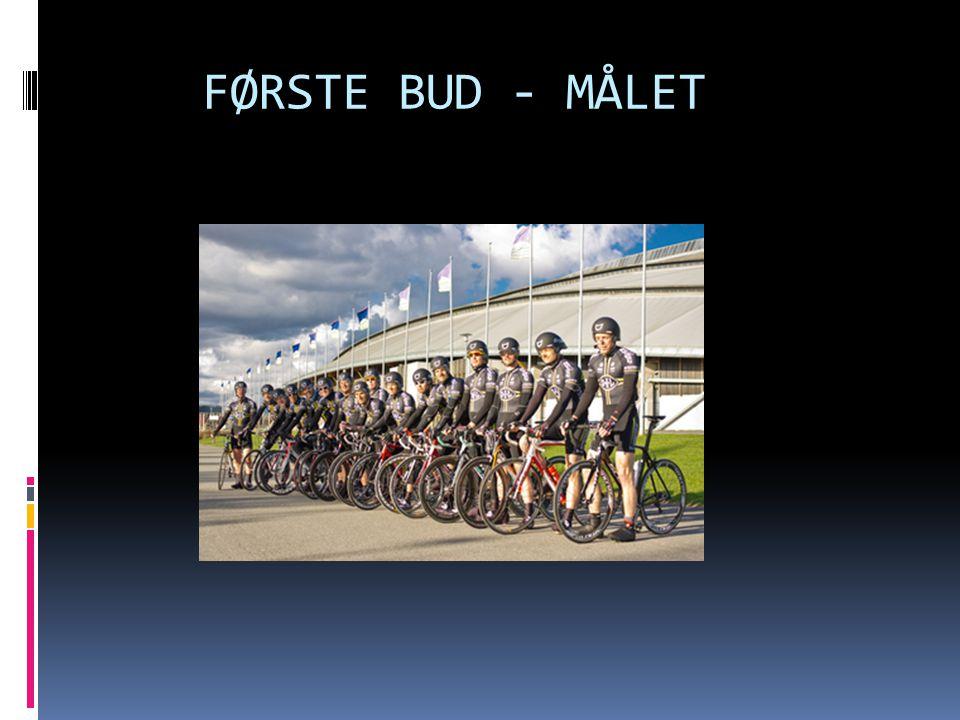 FØRSTE BUD - MÅLET