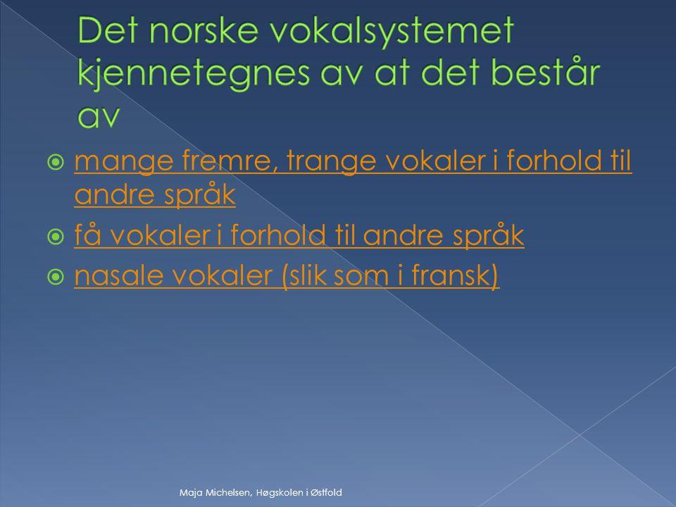 Norsk bygger på et alfabetisk prinsipp som vil si at et grafem (en bokstav) ideelt sett representerer et fonem (en lyd). Likevel har vi mange ord som
