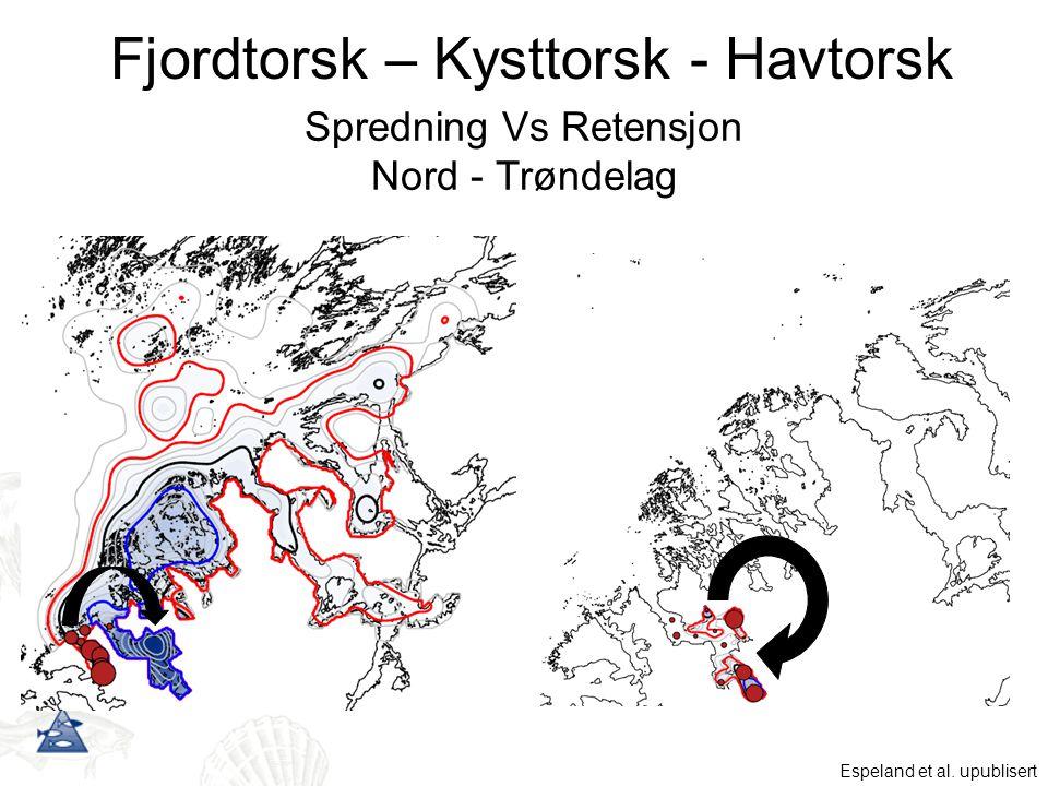 Spredning Vs Retensjon Nord - Trøndelag Espeland et al.