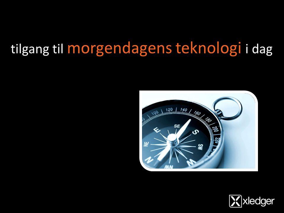 tilgang til morgendagens teknologi i dag