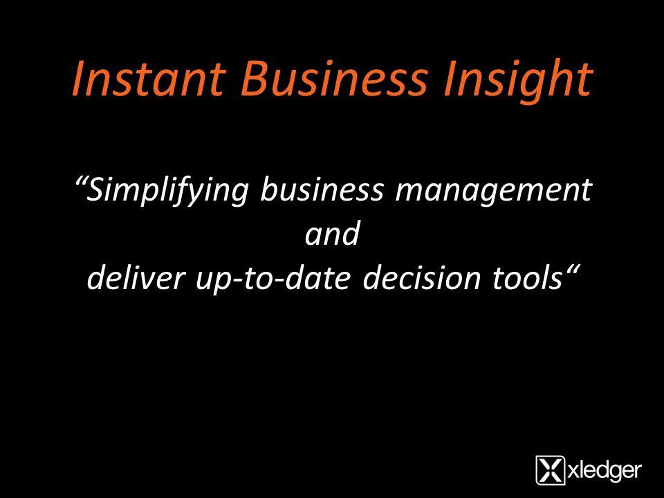 et ekte webbasert forretningssystem som gir deg stor fleksibilitet, ny mobilitet og detaljert oversikt