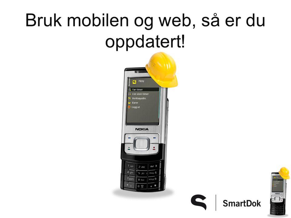Du har oppdatert kilometerstand/timetall Varsel når service er passert på SMS!