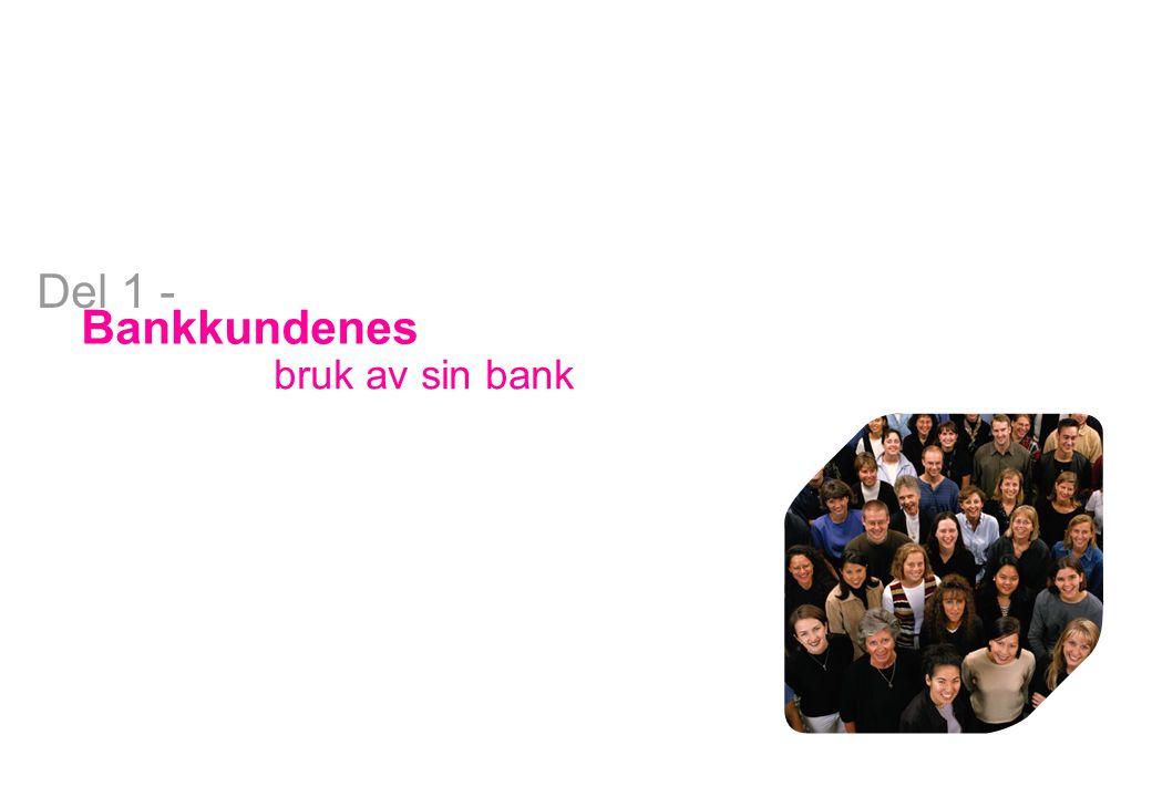 Bank Bankkundenes bruk av sin bank Del 1 -