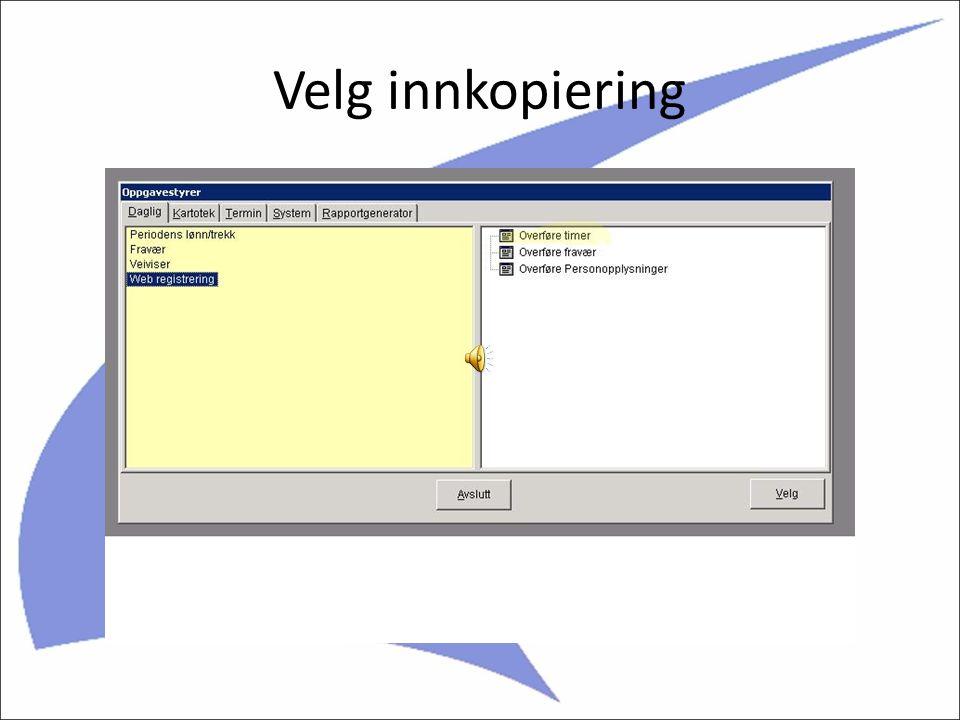 Enkel overføring til System4