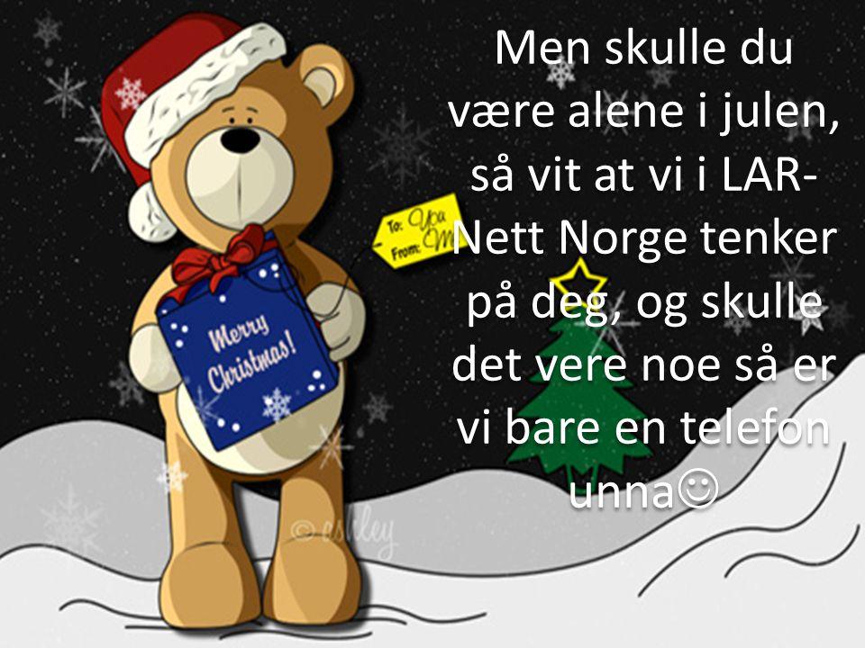 Vi håper dere får en jul med mye lek og moro. Sammen med familie og venner…