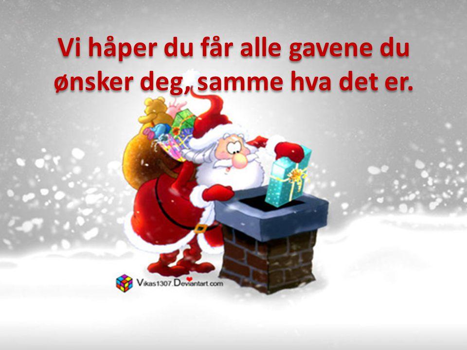 Men skulle du være alene i julen, så vit at vi i LAR- Nett Norge tenker på deg, og skulle det vere noe så er vi bare en telefon unna 